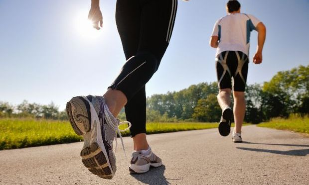 Sportul in aer liber ne face mai fericiti