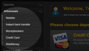 Modalitati de depunere si retragere a banilor pentru pariuri online