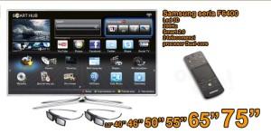 Ce stim despre televizorul Samsung F6400?