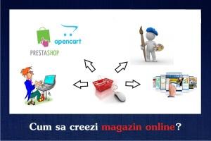 Cum sa creez un magazin online?
