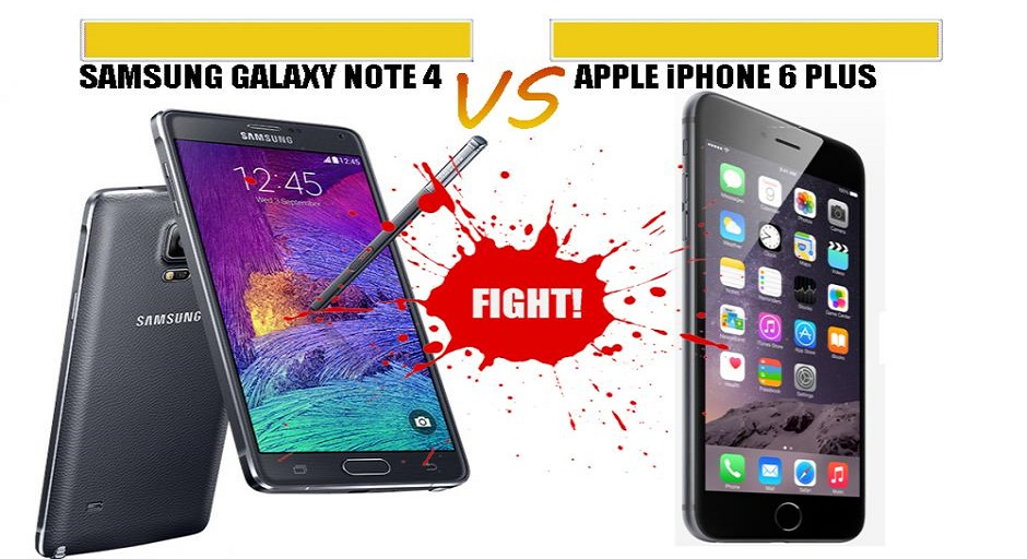 iPhone 6 Plus vs Samsung Galaxy Note 4