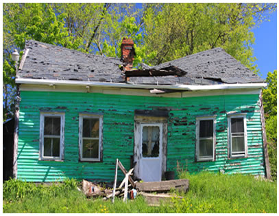 What to do in a house that needs repairs?