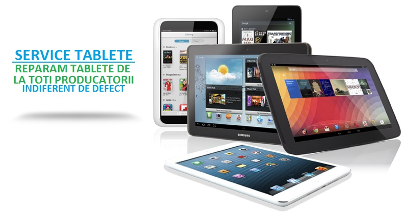Ce reparatii necesita tabletele Samsung in anumite situatii?